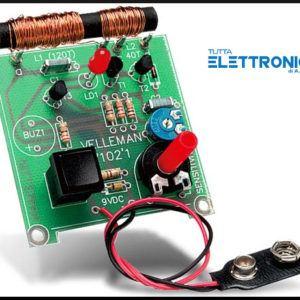 Velleman K7102 metal detector rilevatore metalli KIT elettronico