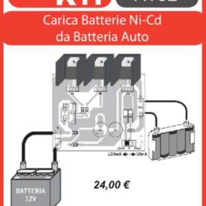 ELSE KIT RS156 Carica Batterie al NI-CD da Batt. Auto Kit elettronico