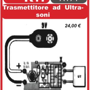 ELSE KIT RS168 Trasmettitore ad Ultrasuoni Kit elettronico