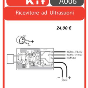 ELSE KIT RS169 Ricevitore ad Ultrasuoni Kit elettronico