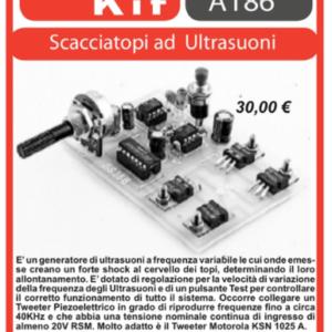 ELSE KIT RS186  Scacciatopi ad Ultrasuoni Kit elettronico
