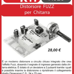 ELSE KIT RS187  Distorsore Fuzz per Chitarra Kit elettronico