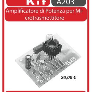ELSE KIT RS219 Amplificatoreper Microtrasmettitore KIT elettronico