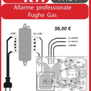 ELSE KIT RS230 Rivelatore Professionale di Gas Kit elettronico