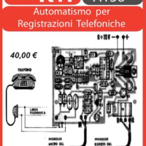 ELSE KIT RS240  Automatismo per RegistrazioniTelefoniche Kit elettronico
