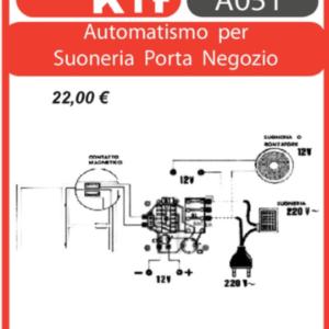 ELSE KIT RS268 Automatismo per Suoneria Porta Negozio Kit elettronico