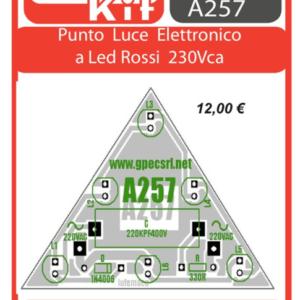 ELSE KIT RS278 Punto Luce Elettronico a Led 220 Vca Kit elettronico