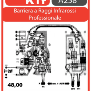 ELSE KIT RS279  Barriera a Raggi Infrarossi Professionale Kit elettronico