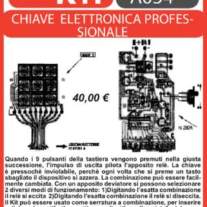 ELSE KIT RS280 Relè a Combinazione Elettronica Kit elettronico