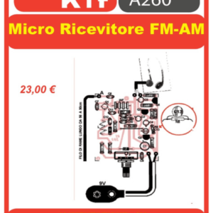 ELSE KIT RS283 Micro Ricevitore FM-AM Kit elettronico