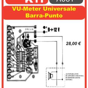 ELSE KIT RS292 VU – Meter Universale Barra – Punto Kit elettronico