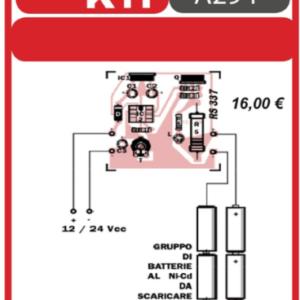 ELSE KIT RS337 Scarica Batterie al NI-CD Kit elettronico