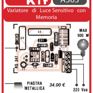 ELSE KIT RS347 Variatore di Luce Sensitivo con Memoria