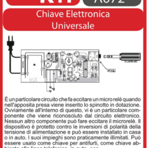 ELSE KIT RS364 Chiave Elettronica Universale Kit elettronico