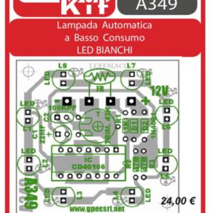 ELSE KIT RS415 Lampada Automatica a Basso Consumo