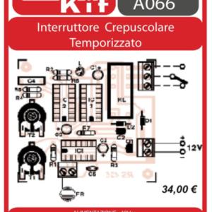 ELSE KIT RS425 Interruttore Crepuscolare Temporizzato Kit elettronico