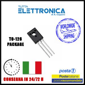 BD376 Transistor Silicon Si-PNP 50V 2A 25W TO-126 case