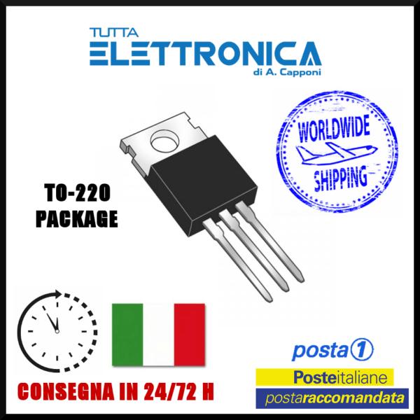 17542 Thyristor 400V 5A TO-220 case