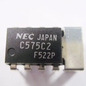 UPC575C2 IC/CI  Dip-8 Circuito integrato – Integrated circuit
