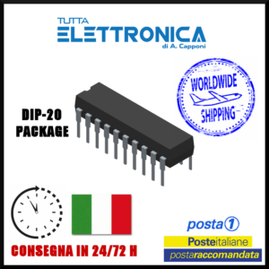 6529 per Commodore IC/CI DIP-20  Circuito integrato – Integrated circuit