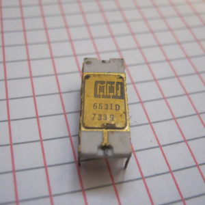 6531 Ceramic Gold IC/CI DIP-16 Circuito integrato – Integrated circuit