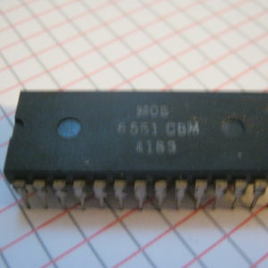6551 IC/CI DIP-28  Circuito integrato – Integrated circuit