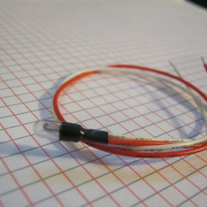 Lampadina 24 V Micro 30ma con Fili