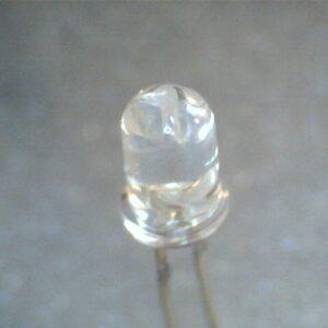 Led Bianco 5mm Alta Efficenza