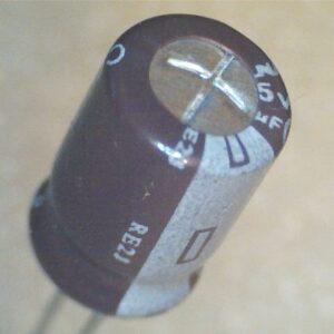 Condensatore Elettrolitico 100uF 25V Radiale