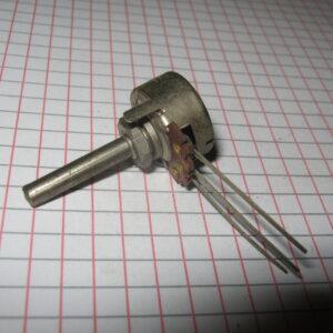 Potenziometro 15K Lineare 4mm Metallo NOS