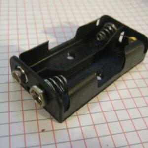 Portapile 2 Stilo AA con Clips