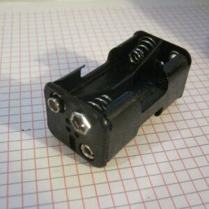 Portapile 4 Stilo AA con Clips