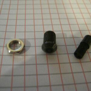 Portaled 3mm Metallo Conico Brunito