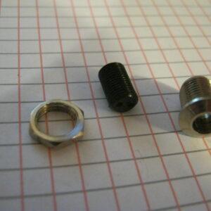 Portaled 5mm Metallo Conico Cromato