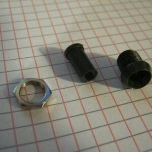 Portaled 5mm Metallo Incavato Brunito