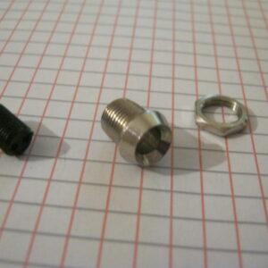 Portaled 5mm Metallo Incavato Cromato