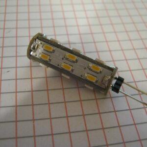 Lampadina Led G4 3000K 10-30V 1,3W Omnidirezionale JO540/3WW