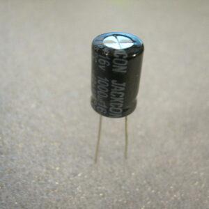 Condensatore Elettrolitico 1000uF 16V Radiale