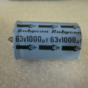 Condensatore Elettrolitico 1000uF 63V Assiale