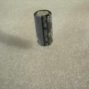 Condensatore Elettrolitico 2200uF 16V Radiale