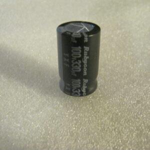 Condensatore Elettrolitico 330uF 100V Radiale