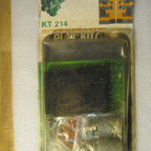 PLAY KITS KT21 Amplificatore HI-FI Stereo 20+20W R.M.S. ( Vintage )