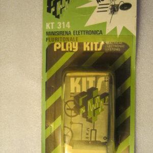 PLAY KITS KT314 Minisirena Elettronica Pluritonale ( Vintage )