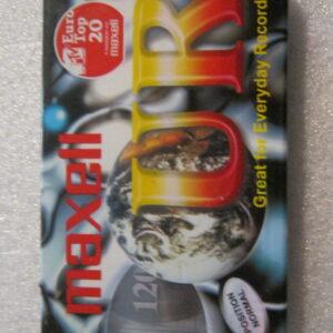 Audio Cassetta MAXELL UR 120 IEC I/TYPE I  Normal Position 120 Minuti