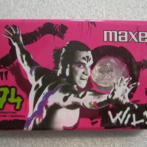 Audio Cassetta MAXELL WILD 94 IEC I/TYPE I  Normal Position 94 Minuti