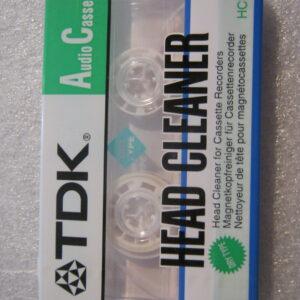Audio Cassetta PULISCITESTINE TDK HEAD CLEANER HCL-11AES