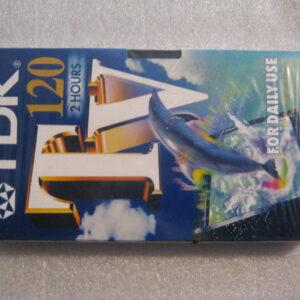 Video Cassetta VHS TDK E-120 TVED 120 Minuti