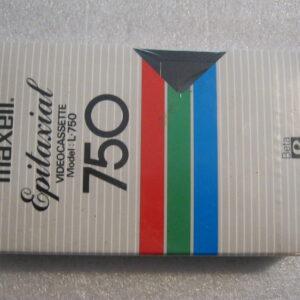 Video Cassetta BETAMAX Maxell Epitaxial  L-750  195 Minuti