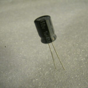 Condensatore Elettrolitico 1uF 350V Radiale