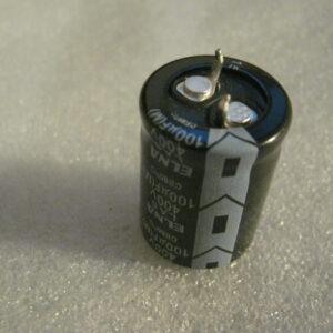Condensatore Elettrolitico 100uF 400V Radiale